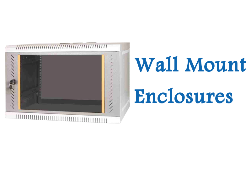 IRack Enclosures has a wide range of Wall Mount Enclosures manufactured as per international quality standards.